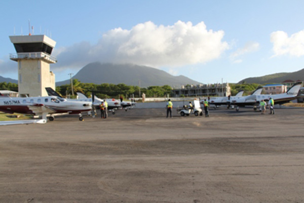 Air Journey brings 12 aircrafts; 34 passengers to Nevis on inaugural visit
