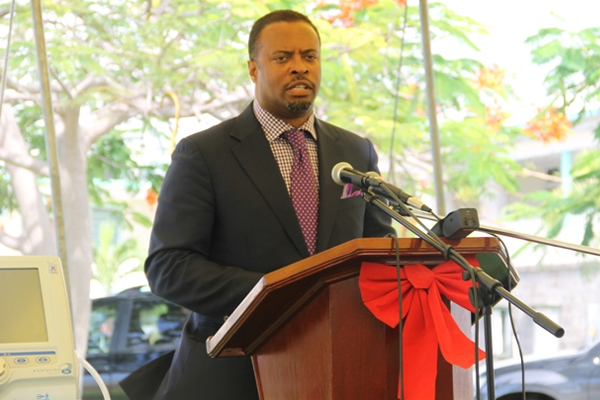 Nevis Health Minister thanks Social Security Board for medical gift