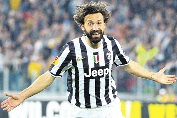 Italy's Pirlo drives fear in England's hearts