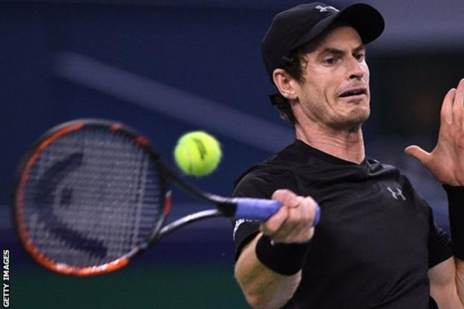 Andy Murray into Shanghai Masters third round with win over Steve Johnson