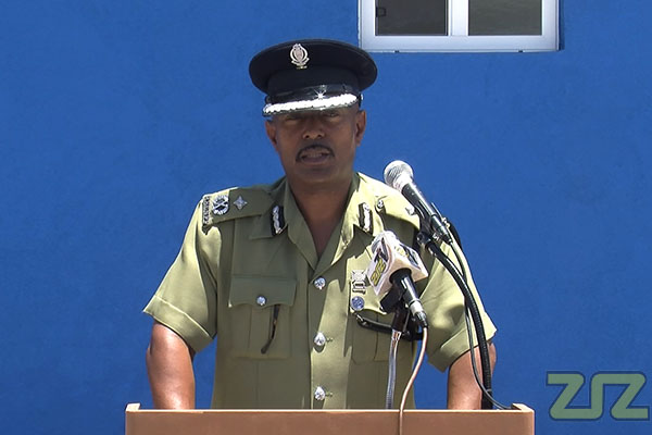 Police Force says Thanks to Donors