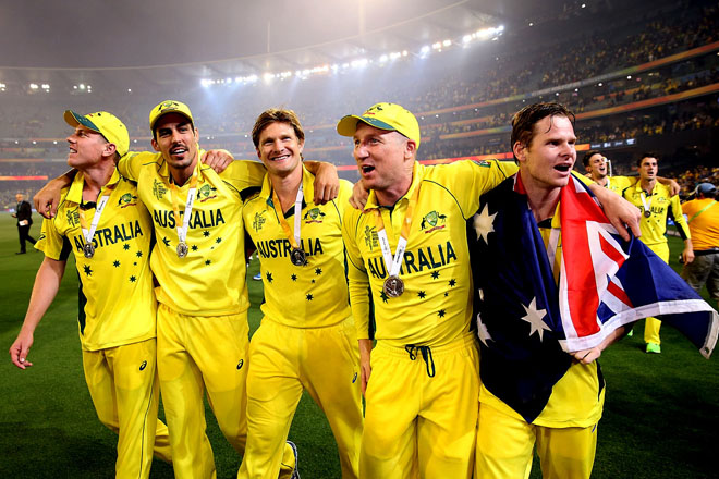 Majestic Australia win Fifth World Cup