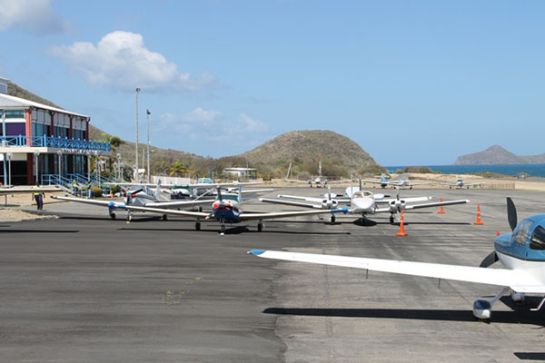 Aviation Connection returns to Nevis with 14 aircrafts; 40 passengers