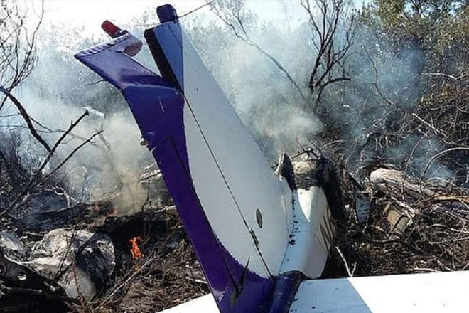 Two killed in plane crash in the Bahamas