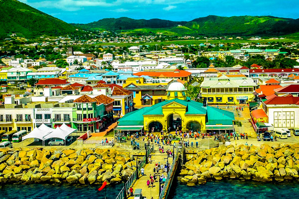 St. Kitts and Nevis, wealthiest in the OECS, and third wealthiest in the Caribbean