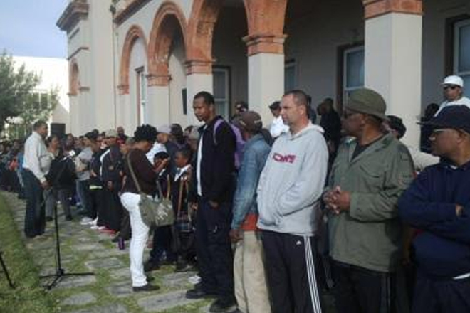 Protesters close down Bermuda House of Assembly