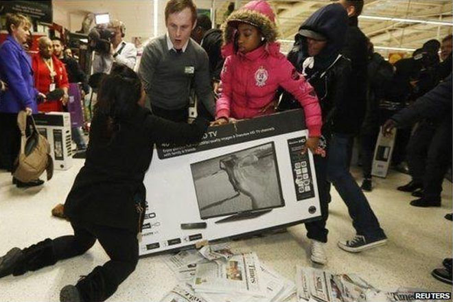 Black Friday: Retailers braced for shopping frenzy