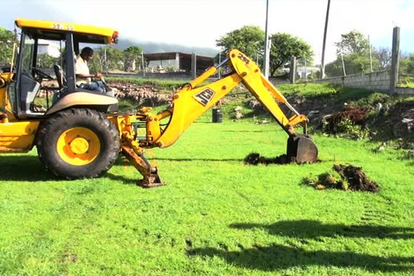 Upgrade works commence at Brown Hill play field