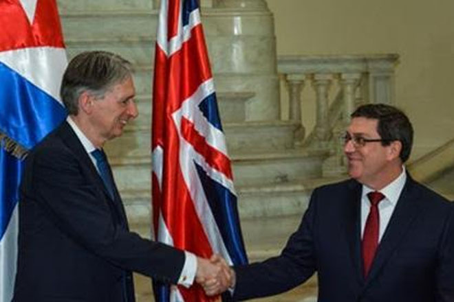 Cuba and UK extend bilateral cooperation
