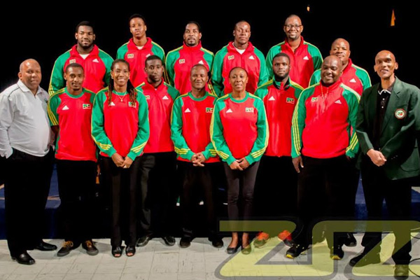 The SKNOC names its 2014 CAC Games Team