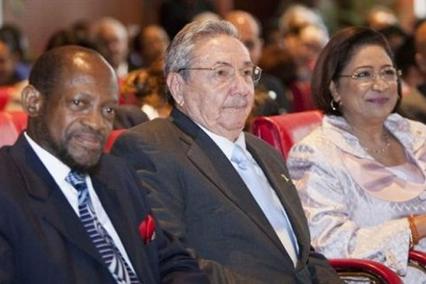 Ambassador Bart leads CARICOM's call for the US to end embargo against Cuba