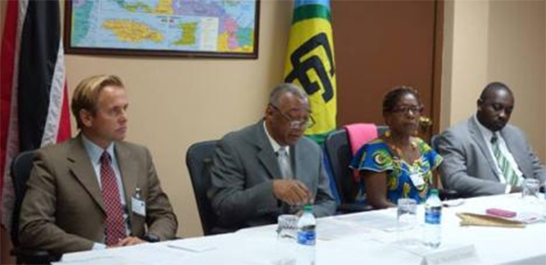 Small arms control training workshop opens in Port of Spain