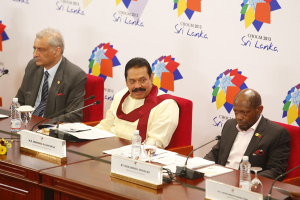 PM Douglas tells Press Conference in Sri Lanka the vulnerability of a nation should be a criterion for accessing funds