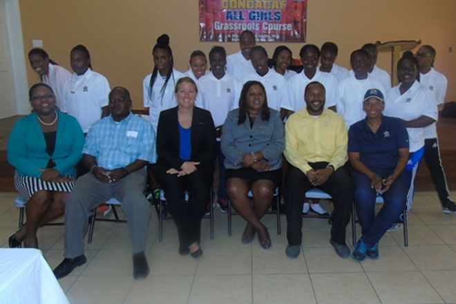 Grass Roots Coaching Course for Females comes to Nevis