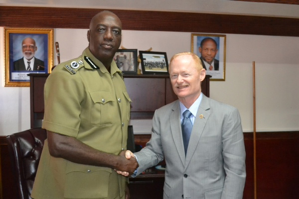 Police Welcome Assistance In Criminal Investigative Training