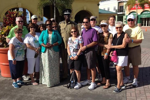 St. Kitts is jewel of the Caribbean say retired law enforcement officers from New York