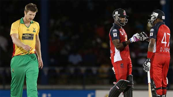 Darren Bravo seals last-ball win for Red Steel