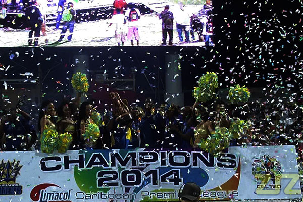 Barbados Tridents: CPL 2014 Champs