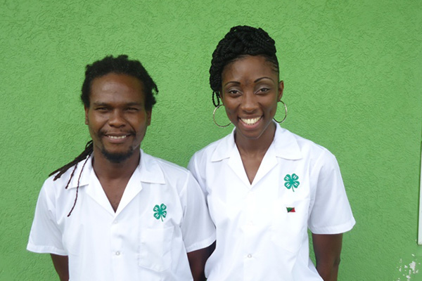 St. Kitts and Nevis 4-Hers elected to serve on Caribbean Council Executive