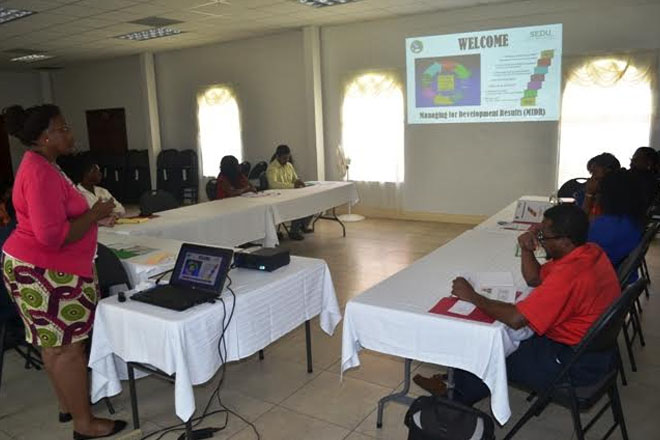 CDB funded workshop targets project implementation on Nevis