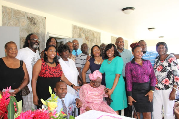 "Nevisian Celian ""Martin"" Powell celebrates 103rd birthday"