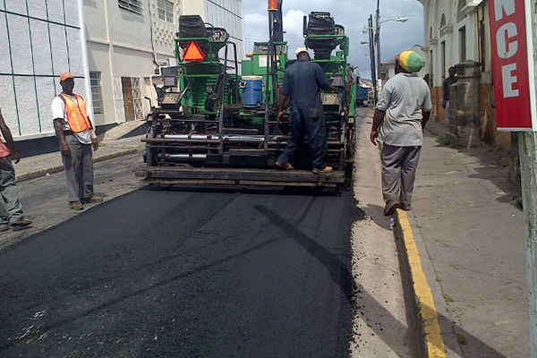 Resurfacing of Central Street begins