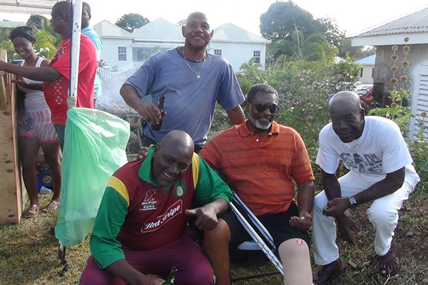 Cotton Ground Community shows solidarity with former cricketer