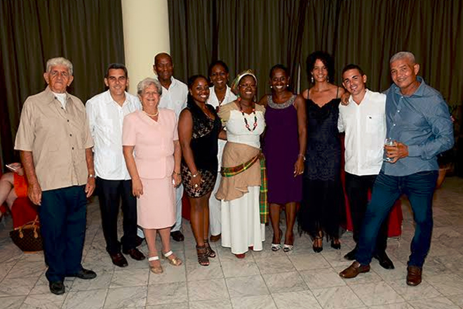 St. Kitts and Nevis diplomat in Cuba celebrates 33rd Anniversary of Independence