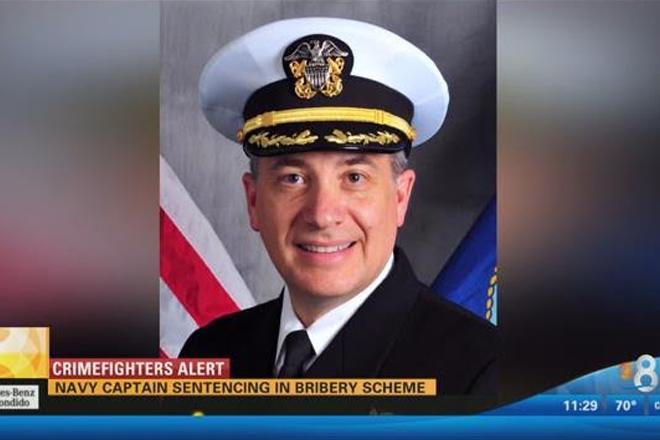 Top US Navy Officer Jailed Over Massive Bribery Scandal