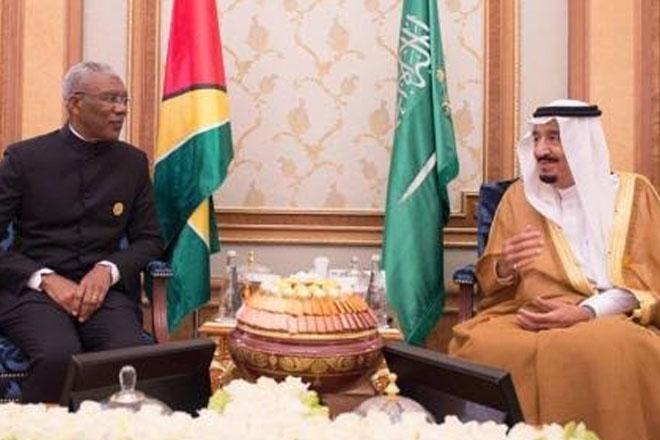 Guyana and Saudi Arabia to establish Joint Commission