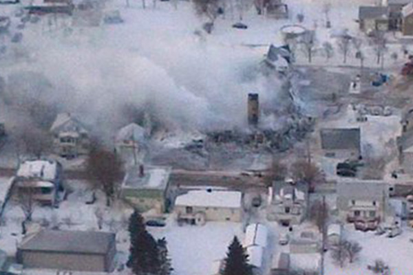 Deadly fire at Quebec home for the elderly