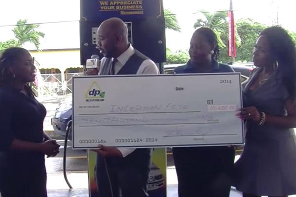 Delta Donates to Inception Fete