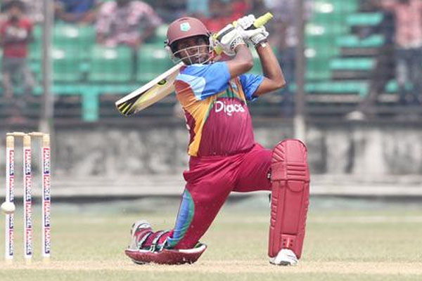 Ramdin hits ton but Windies fall short