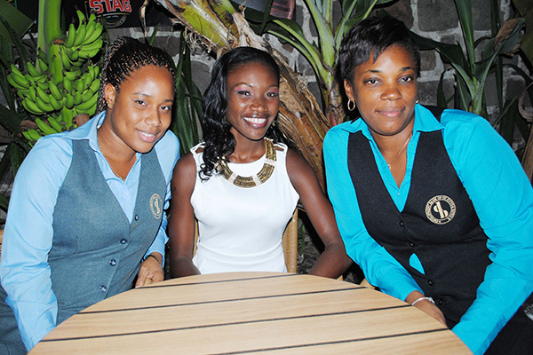 Development Bank sponsors Brianda Harvey for the 2013 Miss National Carnival Queen Pageant