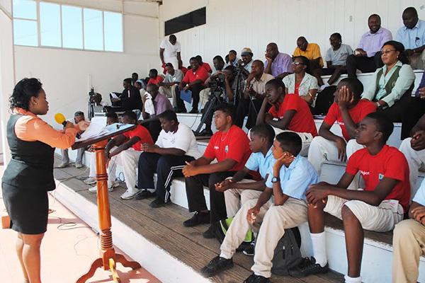 Development Bank is Nevis Cricket Association's platinum sponsor