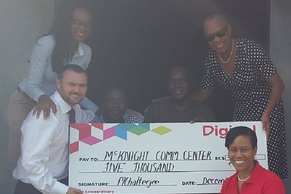 Digicel donates to the Disabled