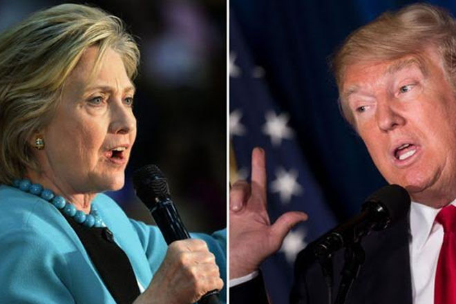 US Election 2016: Clinton and Trump their sharpen attacks