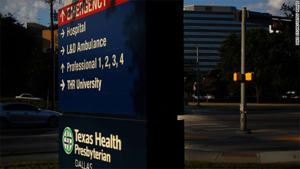 Sources: Nurse with Ebola to be moved from Dallas hospital to Maryland facility