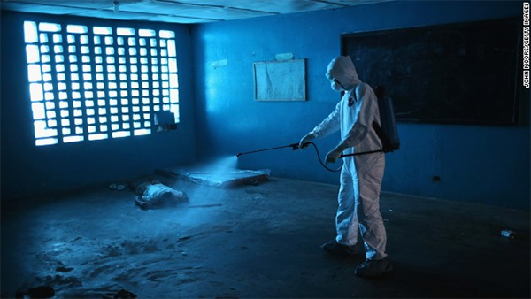 Ebola facility in Liberia attacked; patients flee