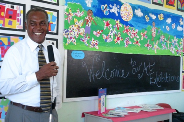 Nevis Education Minister encourages students to showcase talent through Art