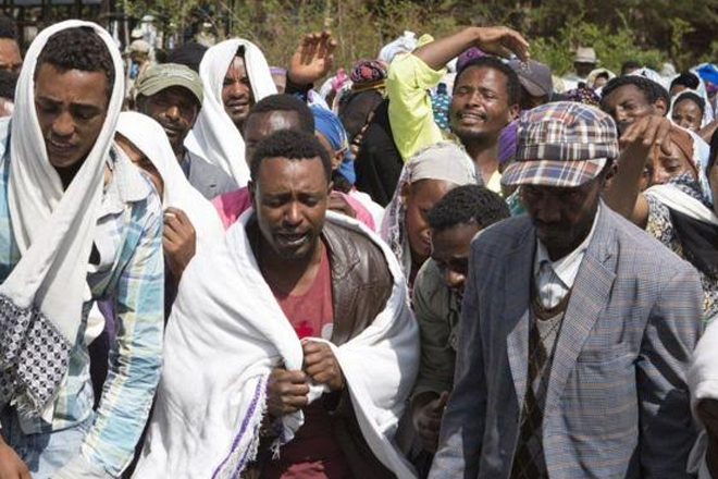 Ethiopian forces 'kill 140 Oromo protesters'