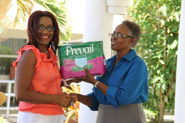Nevis Association of South Florida donates to Flamboyant Nursing Home