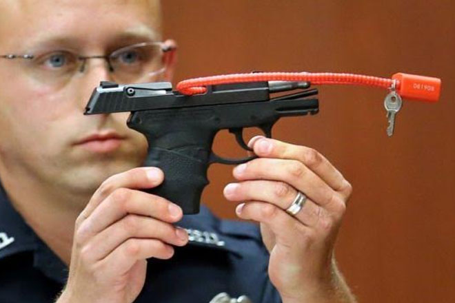 Zimmerman handgun 'removed from sale'