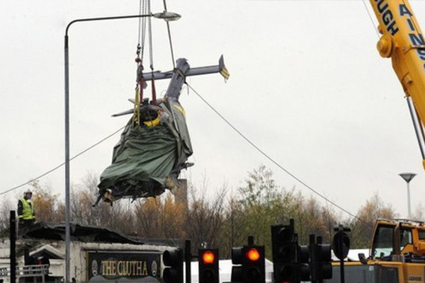No mayday call from Glasgow Clutha bar crash helicopter