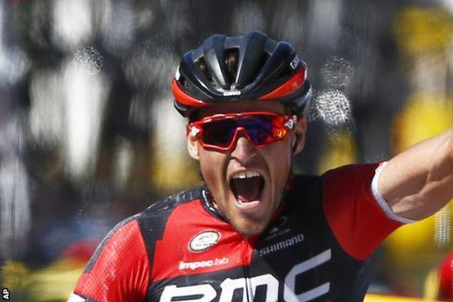 Tour de France: Greg van Avermaet takes five minute lead after stage five