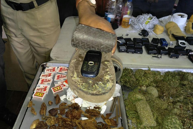 Prison Closure Leads To Confiscation Of Hundreds Of Pieces Of Contraband