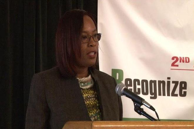 Financial secretary addresses de-risking banking issue