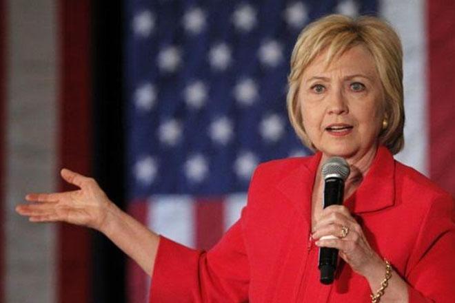 Hillary Clinton says race against Bernie Sanders is 'done'