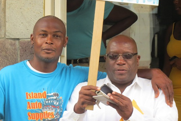 Timothy Harris fails to condemn tire slashing incident in his constituency
