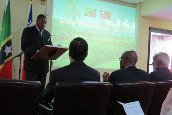 "Phillip: St. Kitts and Nevis and Taiwan relations ""the perfect example of harmonious and cordial ties that redound to the benefit of our two nations."""